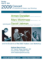 Armen Donelian Marc Mommaas David Liebman