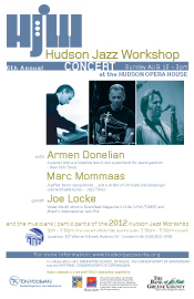 Armen Donelian Marc Mommaas Joe Locke